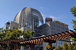 East Village, San Diego - The new San Diego Central Library is in the East Village neighborhood