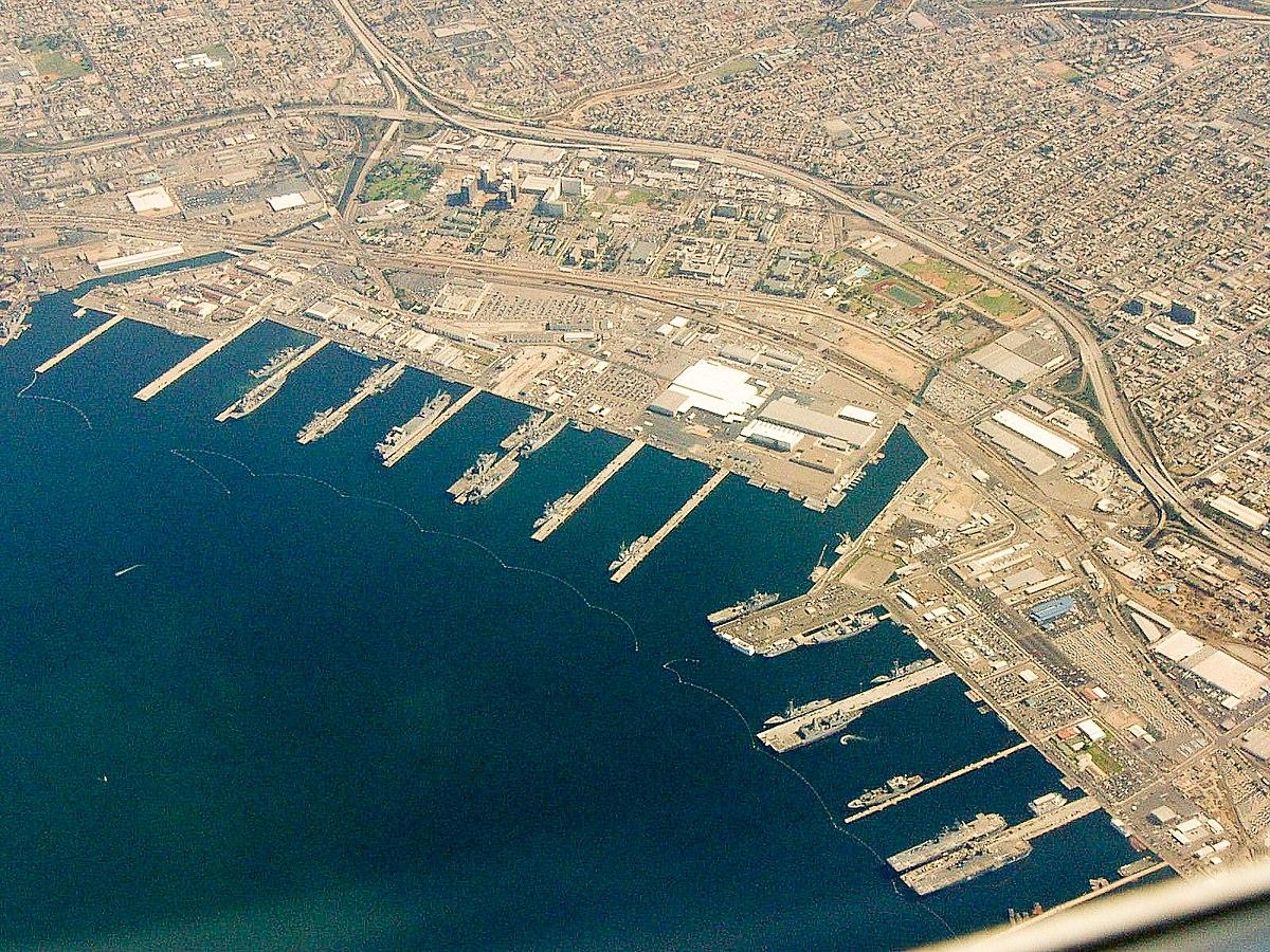Base navale de san diego wikip dia for Outboard motor repair san diego