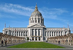 Civic Center, San Francisco - Image: San Francisco City Hall 2