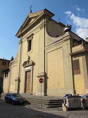 San Giuseppe, Florence - Image: San giuseppe, firenze, facciata 01