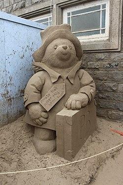 Sand Sculpture at Weston super Mare of Paddington Bear by Rachel Stubbs 2.jpg