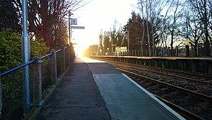 Sandhurst railway station - Sandhurst station in 2014.
