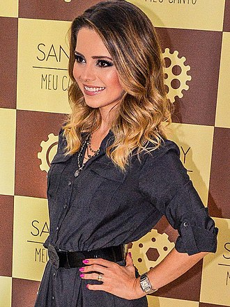 Sandy (singer) - Image: Sandy Meu Canto Tour (3)