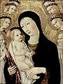 Sano di Pietro - Madonna and Child with Sts Anthony Abbott and Bernardino of Siena - WGA20762.jpg