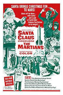 <i>Santa Claus Conquers the Martians</i> 1964 film by Nicholas Webster