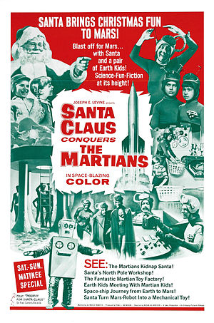 Santa Claus Conquers the Martians - Theatrical release poster