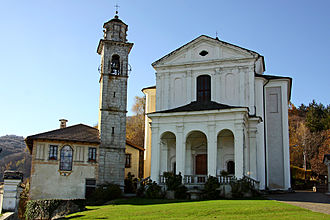 Madonna del Sasso, Piedmont - Image: Santuario Madonna del Sasso