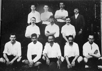 São Paulo Athletic Club - The team of 1904, tri-champion of Brazilian football.