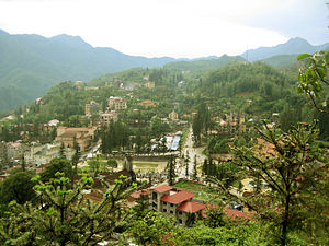Sa Pa - Sa Pa town