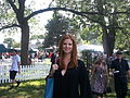 Sarah Rafferty at the CFC ANNUAL BBQ 2012.jpg