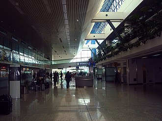 Sarajevo International Airport - Check-in hall