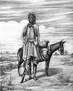 Soninke people - A Soninke man in 1890, sketched by M Philippe