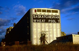 Grain elevator - Saskatchewan Wheat Pool No. 7, Thunder Bay, Ontario