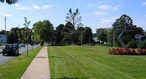 Saunders Park (Nova Scotia) - Image: Saunders Park today
