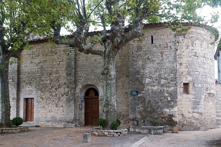Saint Martin Church Sauteyrargues, XIIth century.