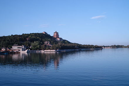 Summer Palace is one of the several palatial gardens built by Qing emperors in the northwest suburb area Scenery of Longevity Hill.JPG