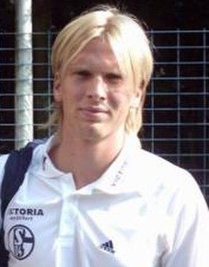 Christian Poulsen - Poulsen at Schalke 04.