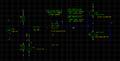 Schemat wzmacniacza z tranzystorową końcówką mocy.png