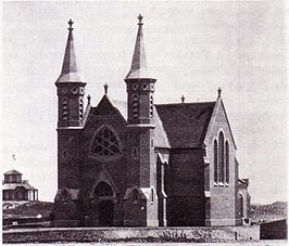 De Badkapel in 1874