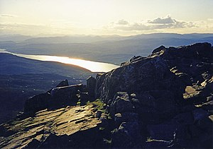 Schiehallion - Image: Schiehallion Summit(wfmillar)Jun 1998
