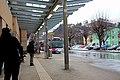 Schwarzach im Pongau - Bahnhof - 2018 03 12 - Bushaltestelle.jpg
