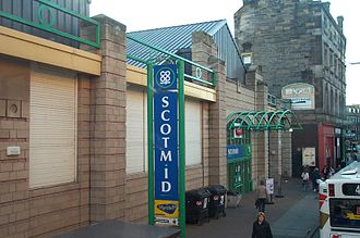 Scotmid - Former Scotmid shop on Duke Street, Leith. Now owned by Tesco