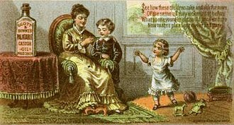 Castor oil - Image: Scott & Bowne's Palatable Castor Oil