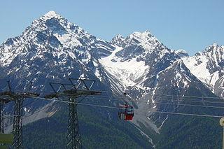 Piz Pisoc mountain