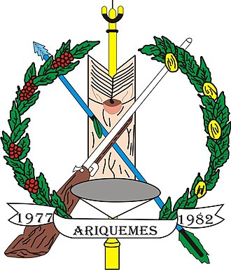 Ariquemes - Image: Seal of Ariquemes