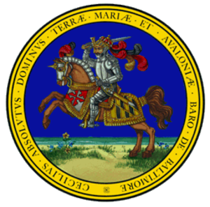 Seal of Maryland - Image: Seal of Maryland (obverse)