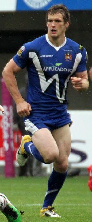 Sean O'Loughlin - O'Loughlin playing for Wigan in 2011