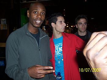 Dave Chappelle in 2007.