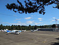 Seaside Municipal Airport (56S) parking apron.jpg