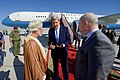 Secretary Kerry Chats With U.S. Ambassador Marc Sievers and Omani Foreign Minister bin Alawi Before Departing (30698028540).jpg