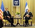 Secretary Kerry Meets With Israeli President Peres.jpg