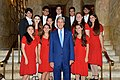 Secretary Kerry Poses for a Photo With the LaGuardia High School Choir Who Performed at the Transatlantic Reception in New York City (21663075640).jpg