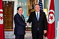 Secretary Pompeo Meets With Tunisian Minister of Foreign Affairs Khemaies Jhinaoui (48299668107).jpg