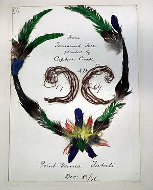 Sunbeam RYS (1874) - Annie Brassey's tourist memento from visit to Tahiti