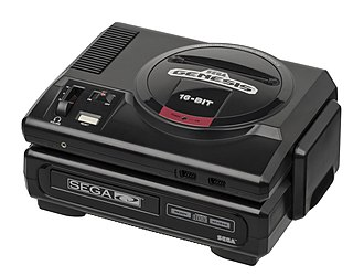 Sega CD - Original North American Sega CD and a model 1 Sega Genesis