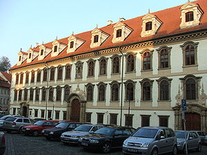 Politics of the Czech Republic - Wallenstein Palace – Seat of the Senate in Prague