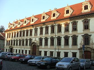 Politics of the Czech Republic - Wallenstein Palace – Seat of the Senate in Prague