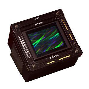 Digital camera back - Sinar eVolution 75 digital camera back sensor, mountable on a select range of medium-format camera brands, 2007, 33 megapixels, price ca. Euro 15.000,00