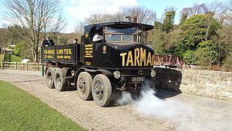 Sentinel Waggon Works - Sentinel DG8, Beamish Steam Fair.