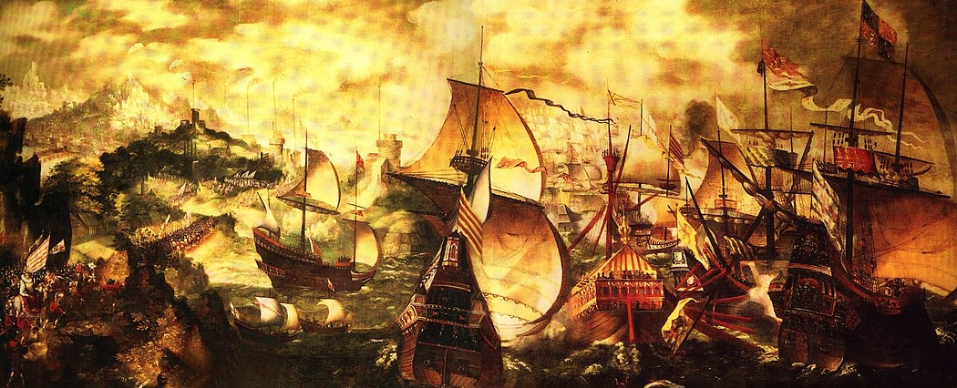 an analysis of the topic of the great naval battle between the spain and england in 1588 Reports about alessandro farnese easy spain brilliantly at the epic naval battle of of 1588 england's admirals, assisted by a great.