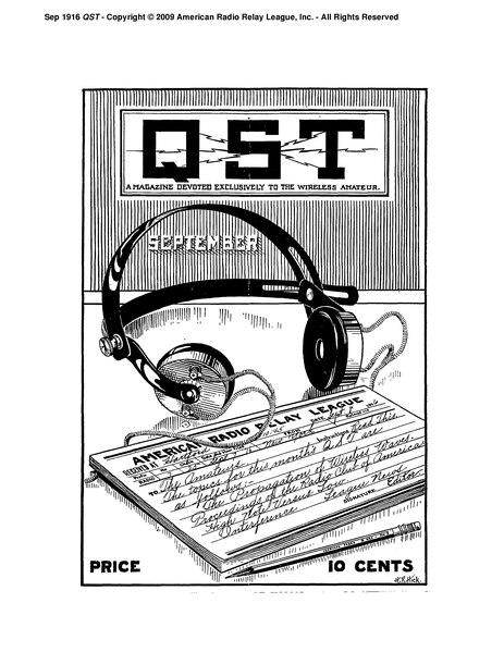 File:September 1916 QST.djvu