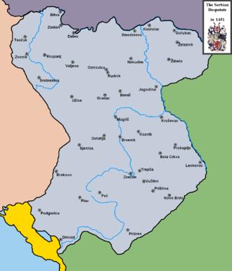 Michael Angelus - The Serbian Despotate in 1451.