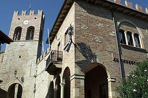 Serravalle (San Marino) - The castle of Serravalle