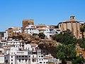 Setenil vista del castillo e iglesia mayor.jpg