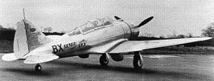 Seversky P-35 - Seversky 2PA/200 under test at RAF Martlesham in 1939