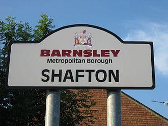 Shafton - Village sign